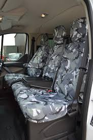 Ford Transit Custom 2013+ Waterproof Tailored Front Seat Covers ...