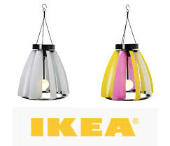 solar and wind powered outdoor lighting at ikea webecoist