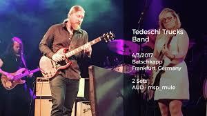 Tedeschi Trucks Band Live At Batschkapp, Frankfurt, Germany - 4/3 ...