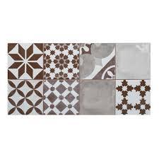 Florida Tile Grandeur Nature by Mono Serra Italia Zen Gris 12 In X 24 In Porcelain Floor And