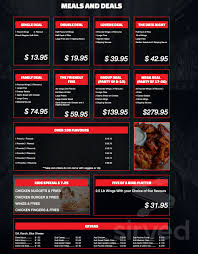 100 The Wing House Menu For In Cannington Ontario Canada