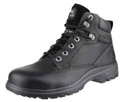 Womens Work And Safety Shoes by Caterpillar Graft Boots Black Caterpillar Ladies Kitson Safety