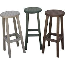 Eagle e Recycled Plastic Patio Bar Stool Brown Ultimate Patio