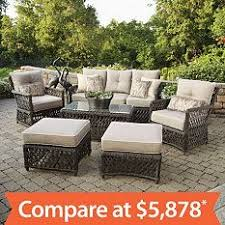 Sams Club Patio Set With Fire Pit by Our Exclusive Top Selling Outdoor Patio Furniture Wicker 6 Piece