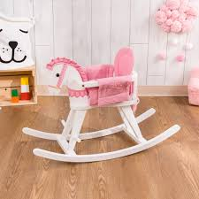 Teamson Kids Childrens Traditional Wooden Rocking Horse Girl Boy Pink  TD-0003A Teamson Design Alphabet Themed Rocking Chair Nebraska Small Easy Home Decorating Ideas Kids Td0003a Outer Space Bouquet Girls Rocker Chairs On W5147g In 2019 Early American Interior Horse Natural Childrens Magic Garden 2piece Set 10 Best For Safari Wooden Giraffe Chairteamson