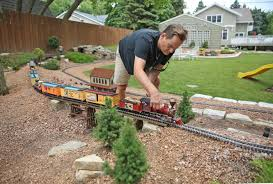 For Some Backyard Railroad Gardeners, It's Full Steam Ahead ... Huge Freight Train Gets Inside A Backyard Muscle Cars Zone Carolwood Pacific And Other Railroads Imageering Disney Astonishing Private Model Railroad In German Youtube S L Shortline Youtube Ideas Grizzly Flats Railroad Nthe Emma Nevada Locomotive Passenger Railroad 7 14 Zoll Gartenbahn Large Scale Wwwgpdtoytrainmuseumcom Riverside Mans Personal Set Of Mini Trains On Track For Memorial Shandon By Diamond Car Works Hydraulic Locomotive Build Tips My Centralia Garden Farm Outdoors Pinterest Gardens In