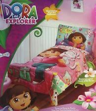 Dora Toddler Bed Set by Dora Toddler Bedding Ebay