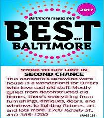 2017 Best Of Baltimore Award Store To Get Lost In