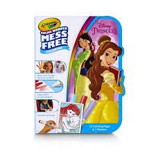 Crayola Color Wonder Disney Princess Coloring Book Mess Free Markers
