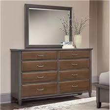 Vaughan Bassett Dresser With Mirror by Dresser Mirror Bedroom