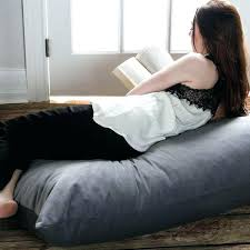 Big Bean Bag Bed Large Floor Pillow Free Shipping Today Giant