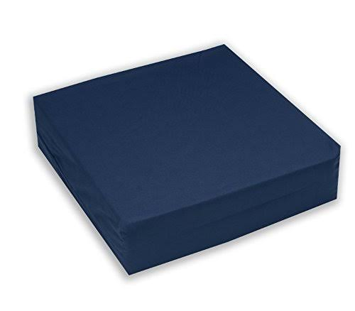 Hermell Products Inc. Foam Wheelchair Cushion-Navy 18 W x 16 D X4