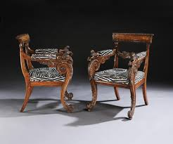 AN OUTSTANDING PAIR OF REGENCY PERIOD CARVED OAK ARMCHAIRS (c ... Vintage Oak Armchairs By Borge Mogsen For Fredericia Set Of 6 Unique Pair Vienna Arts And Crafts Movement For William Iv Gothic C 1835 England From Bas Van Pelt 1930s 2 Sale At Pamono Forest Ldon Danish Soro Stolefabrik 1960s Guillerme Chambron Votre Maison On Viyet Designer Fniture Seating Brownstone Ibizia Sepia Armchair Jack Der Molen Vans Mid