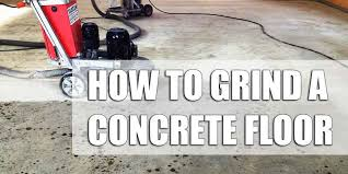 Edco Floor Grinder Home Depot by The Ultimate Guide To Grinding A Garge Floor