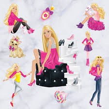 Amazoncom Newest Version Home Decorative 3D Effect Cute Barbie