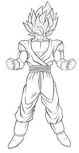 Coloriage Dragon Ball Z Sangoku Super Sayen 3 PRINTABLES Pinterest