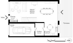 plan maison 4 chambres etage plan maison à étage avec 4 chambres ooreka
