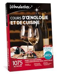 cours de cuisine boulogne billancourt cours d oenologie et cuisine coffret cadeau wonderbox