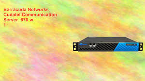 Barracuda Networks Cudatel Communication Server 670 W 1 - YouTube