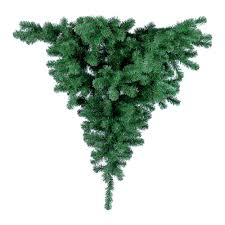 8ft Christmas Tree by Upside Down Hanging Christmas Tree Dzd