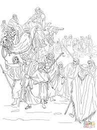 Click The Joseph Is Sold Into Slavery By His Brothers Coloring Pages