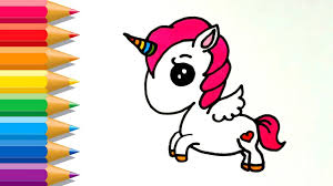 How To Draw Cute Unicorn Easy