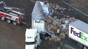 New Jersey Highway Crash Sends FedEx Packages Flying 10 Days Before ... Johnson City Press Update 1 Dead In Ctortrailer Crash At I81 Fedex Truck Crashes Front Of Vogue Center Killed After Car And Truck Crash Otay Mesa Times San New Jersey Highway Sends Packages Flying 10 Days Before Commuter Train Smashes Into Cuts It Two Cnn Volving Semi Box Elder County Gephardt Stolen On South Side Abc7chicagocom Slams Parked News Sports Jobs Obsver Today California Tour Bus 911 Calls Released Hit By Train Utah Youtube Fatal 880 Involving Fed Ex Cleared Fivehour Omaha Police Cruiser Collide