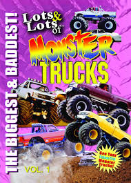 Amazon.com: Lots & Lots Of Monster Trucks DVD Volume 1 - The Biggest ...