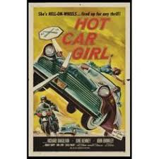 Hot Car Girl Movie Poster 24in X 36in Musclegirls