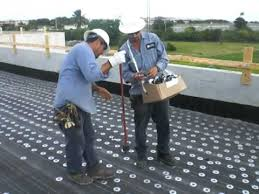 base ply fastening to lightweight concrete deck