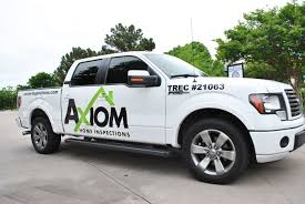 100 North Texas Truck Axiom Home Inspections Ford F150 Super Crew Wrap Car Wrap City