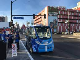 Human At Fault In Accident With Las Vegas Driverless Shuttle – Las ... Las Vegas Selfdriving Bus Crashes During First Day Due To Human Ex Truckers Getting Back Into Trucking Need Experience Hshot Trucking How Start Cdl Traing Jobs Roho4nsesco Digital Trends Was Onboard The Illfated Trash Truck Drivers Entry Level Driving The Future Of Uberatg Medium Choosing A Local Driving Job Truckdrivingjobscom Rtds School Cdl In Nv St Bulk Tanker Truck Driver Jobs In Nv Best Resource Centerline Drivers