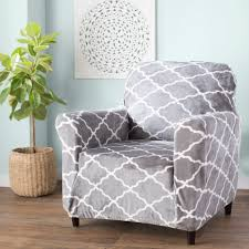 Armchair T-Cushion Slipcovers You'll Love In 2019 | Wayfair Printed Twill Arm Chair Slipcover One Piece Stretch Cover Strapless For Living Room Brenna Collection Preserve The Look Of Your Favorite With Dectable Vintage Overstuffed Armchair Best Stunning Cozy Delightful Leather Slipcovers Set Fabric Tufted Maytex Pixel Fniture Cslipcover Loveseat 2 Buy Covers Online At Overstock Our Pair Of Upholstered Chairs With Pv Estate Ansprechend Oversized And Ottoman Matching Pique Three Back Cushion Inspiring Club Boy