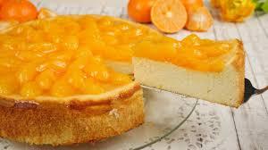 mandarinen käsekuchen ohne boden frischer saftiger quarkkuchen mandarinenkuchen