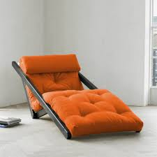 Orange Chair Converts To Twin Bed — New Home Design : Chic ...