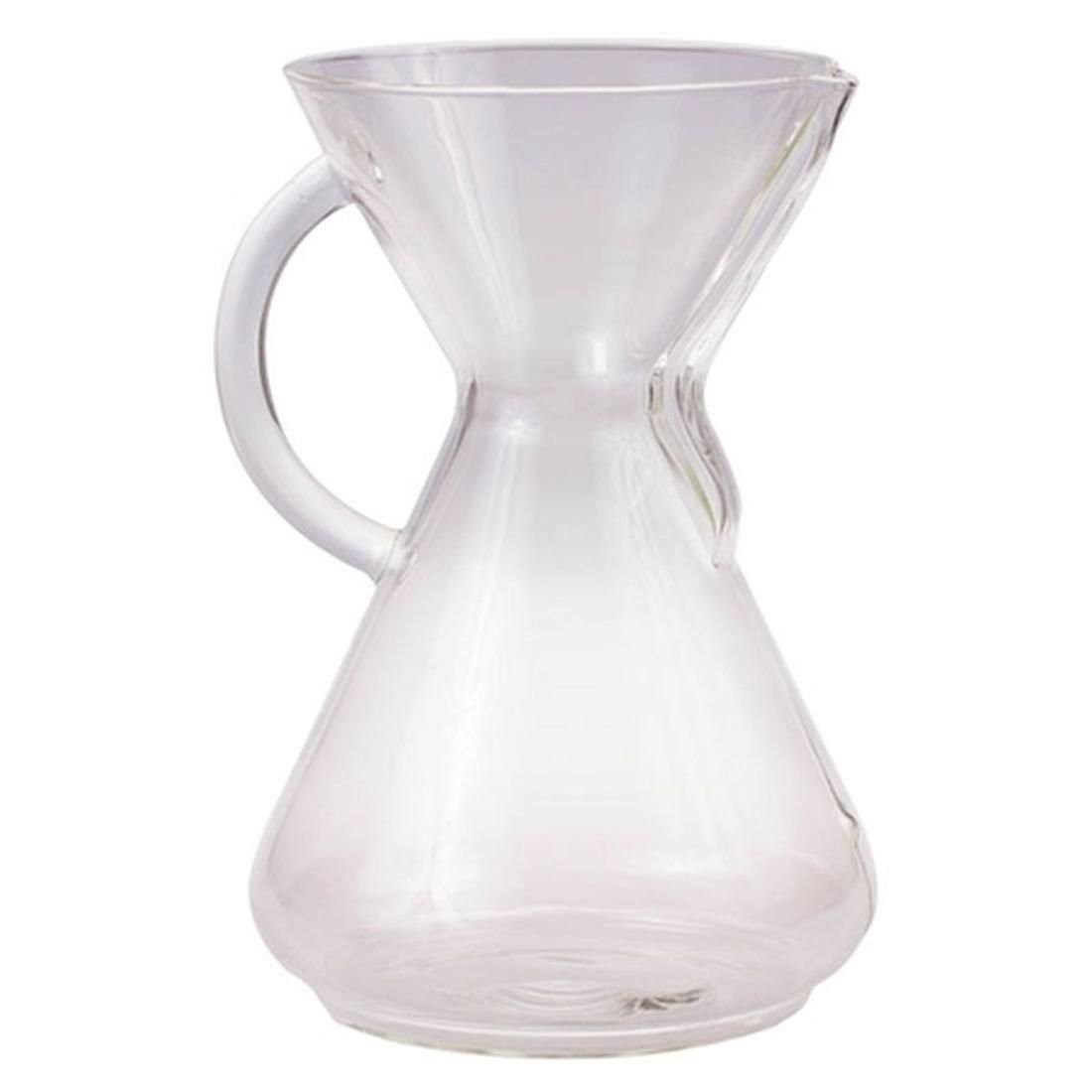 Chemex 10-Cup Glass Coffee Maker with Handle