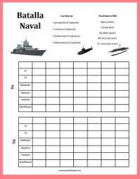 Battleship Blank Vosotros Spanishmama