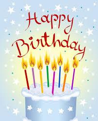 happy birthday animated clip art