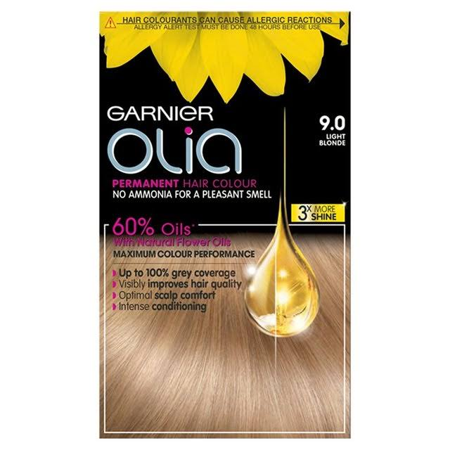Garnier Olia Permanent Hair Dye - 9.0 Light Blonde
