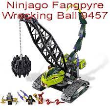 100 Fangpyre Truck Ambush Jual Toys LEGO Ninjago Wrecking Ball 9457 Di Lapak The
