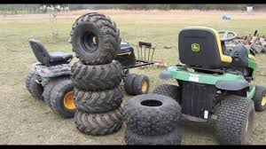 Look At The Tires I Found For My Mower! - YouTube
