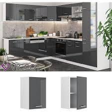 vicco küche r line hängeschrank 40 cm verschiedene farben