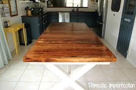 Farmhouse Dining Room Tables Pecan Table With Bench