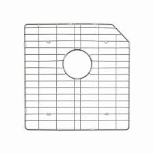 Sink Grid Stainless Steel by Kraus 18 In X 18 In Bottom Sink Grid In Stainless Steel Kbg 123