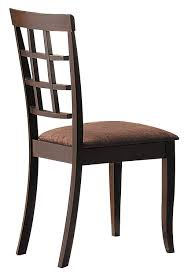Amazon.com - ACME 6850 Cardiff Espresso Finish Dining Table - Chairs Zipcode Design Alesha Side Chair Reviews Wayfair Baxton Studio Reneau Modern And Contemporary Gray Fabric Three Posts Kallas Upholstered Ding John Thomas Windsor From 9900 By Danco Chairs The Home Depot Canada Cheap Kid Wood Table And Set Find Dcg Stores Buy Espresso Finish Kitchen Room Sets Online At Overstock Michelle 2pack Shop Nyomi Of 2 Christopher Knight Creggan Joss Main