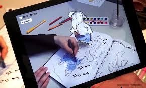 Disney Research Brings Coloring Books To Life Through Augmented
