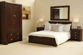 Chic Dark Wood Bedroom Furniture Contemporary Ideas With For