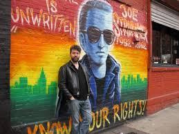 Joe Strummer Mural New York City by Flaming Pablum Say It Ain U0027t So Joe