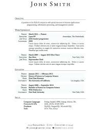 High School Resume Objectives Job Sample Examples Resumes Career Objective Statement For Graduate Teacher