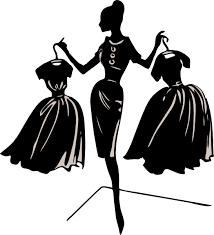 Related Clip Arts Vintage Dress Form Clipart Shilouette